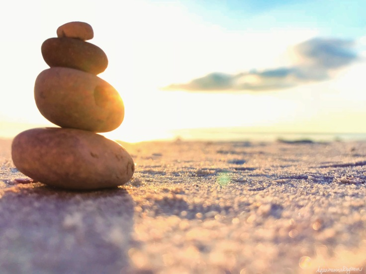 Balance Rocks Sunset